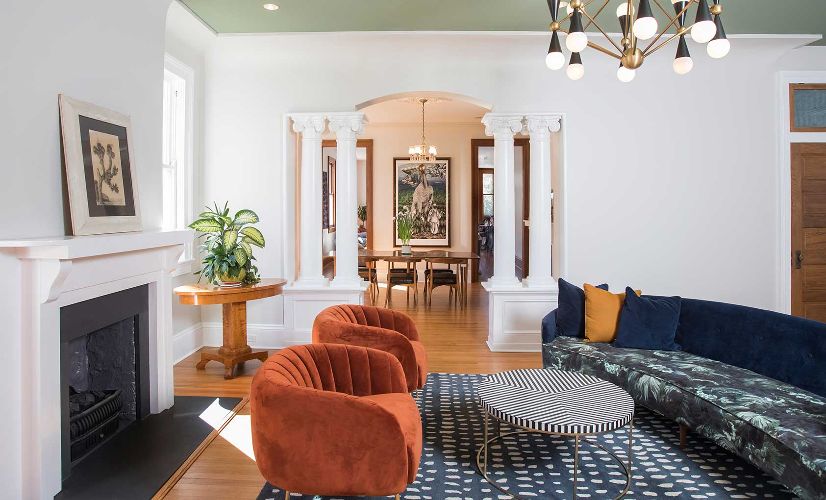 A Neoclassical Home Seamlessly Blends the Old with the New, Design*Sponge