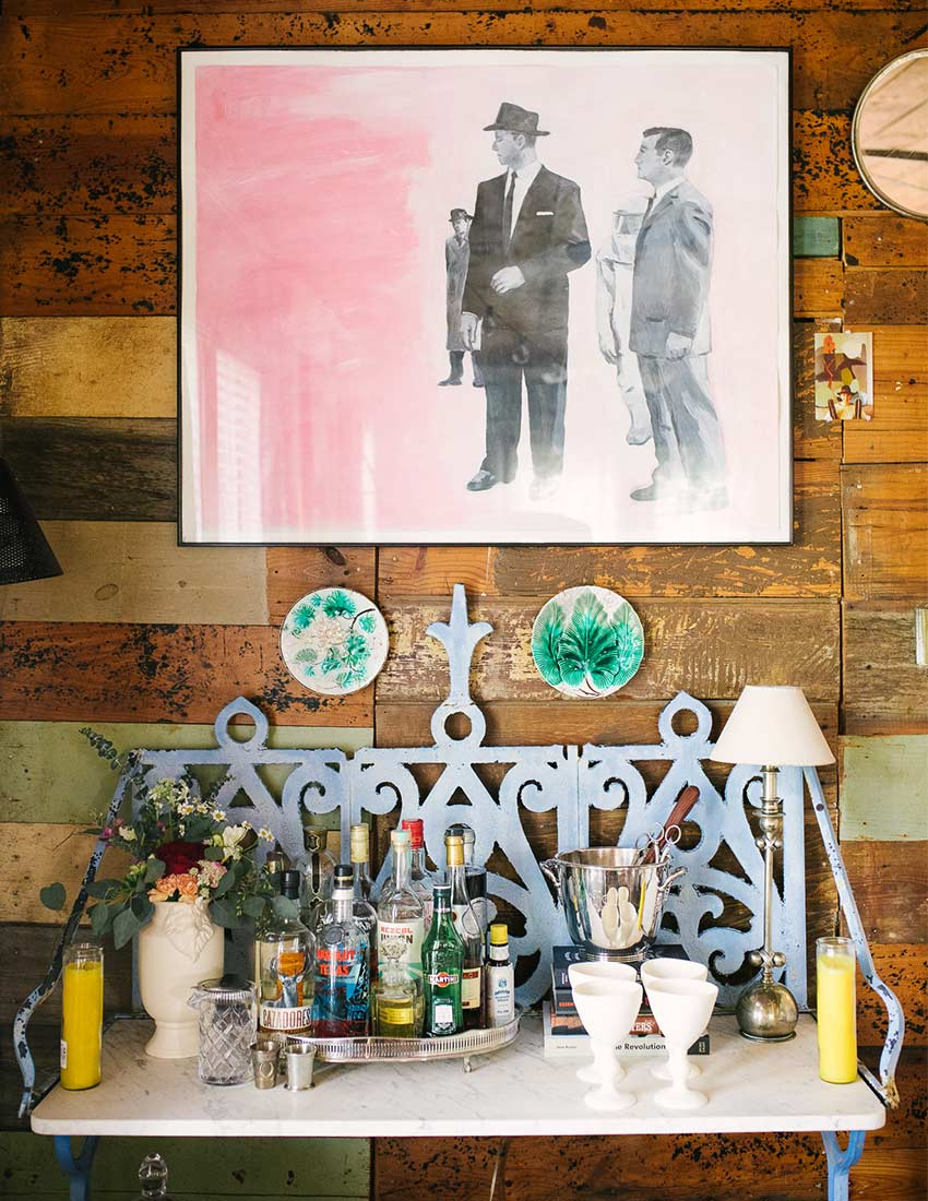 A Rustic Bungalow in Austin, TX Celebrating Family, Design*Sponge