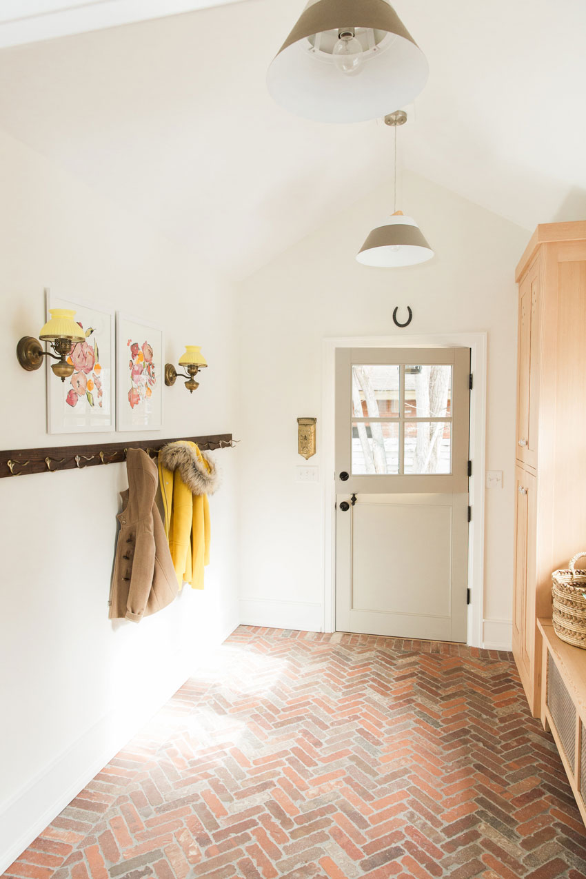 Even The Mudroom In This Lovely Home Features Sentimental And Meaningful Details Tour On Design*Sponge