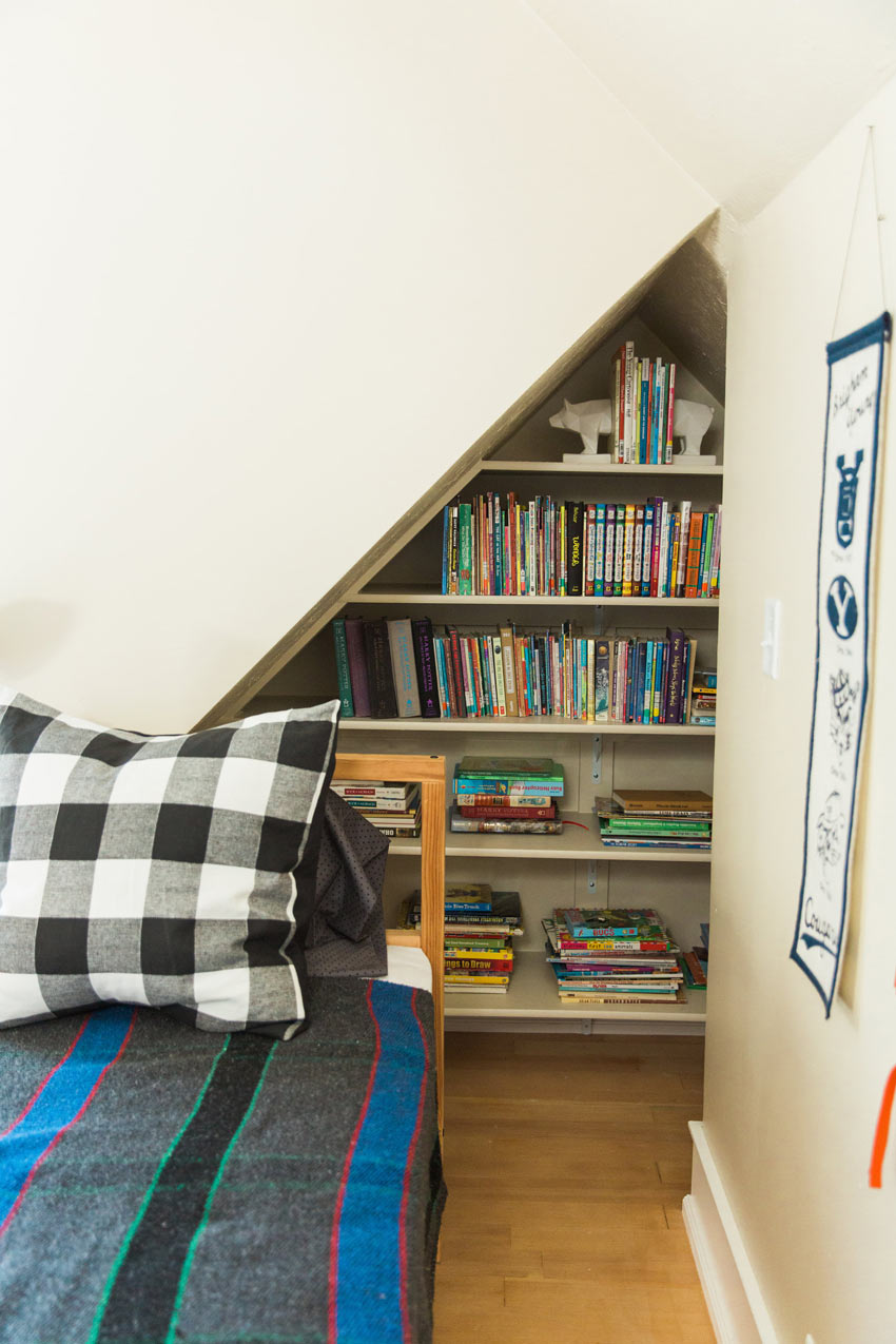Clever Use Of Space Makes For An Efficient Shared Room On Design*Sponge