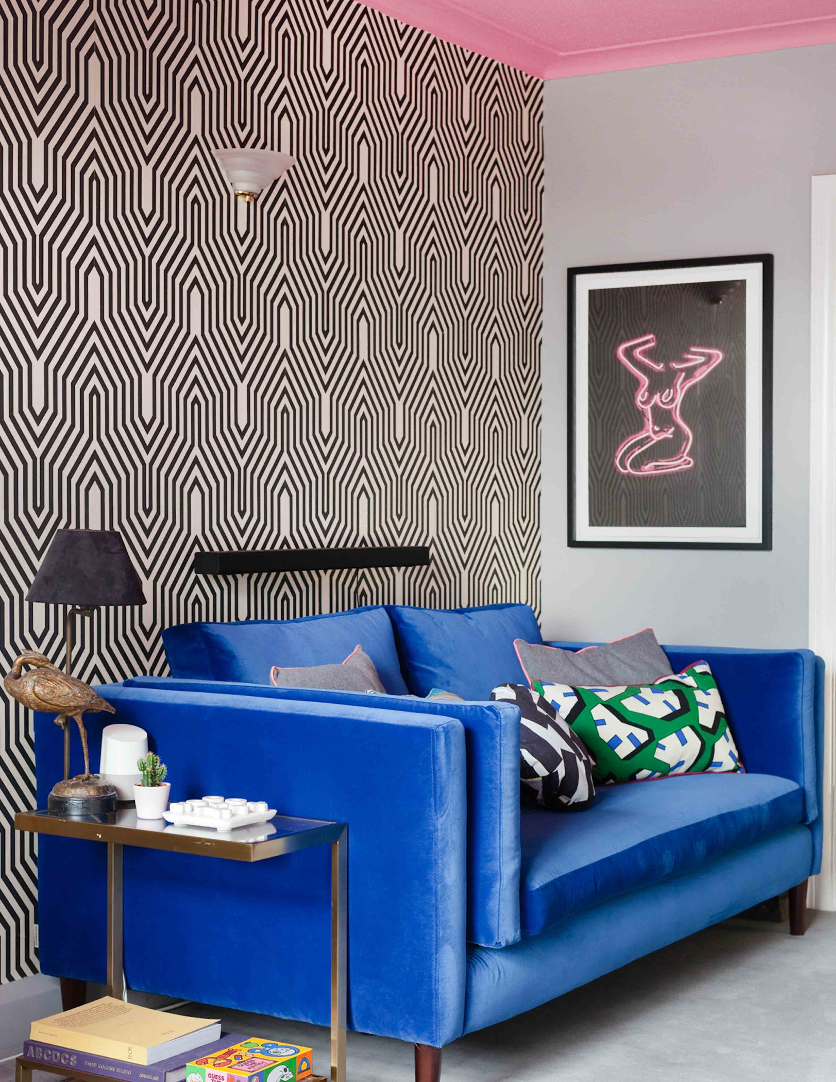 An Art Deco Apartment in South London Decorated to the Max, Design*Sponge