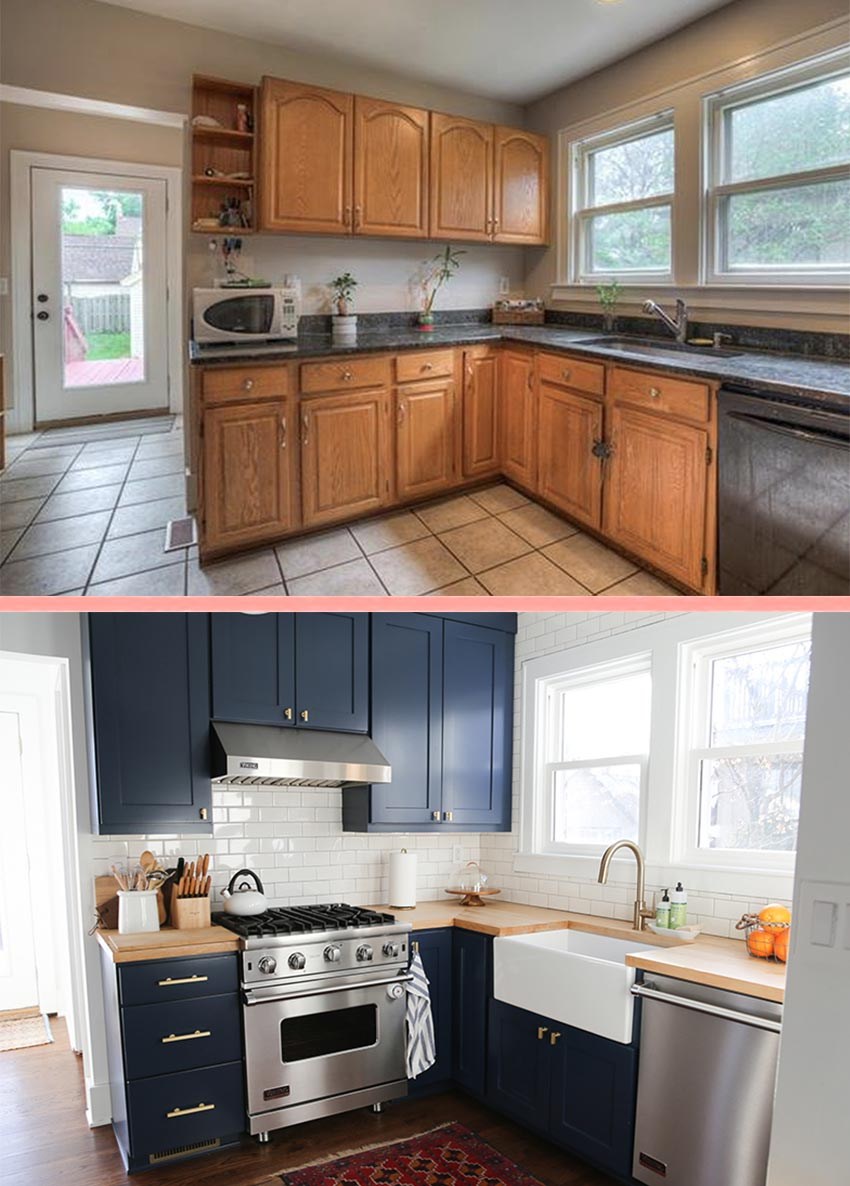 Before & After Kitchen In Michigan Tour On Design*Sponge