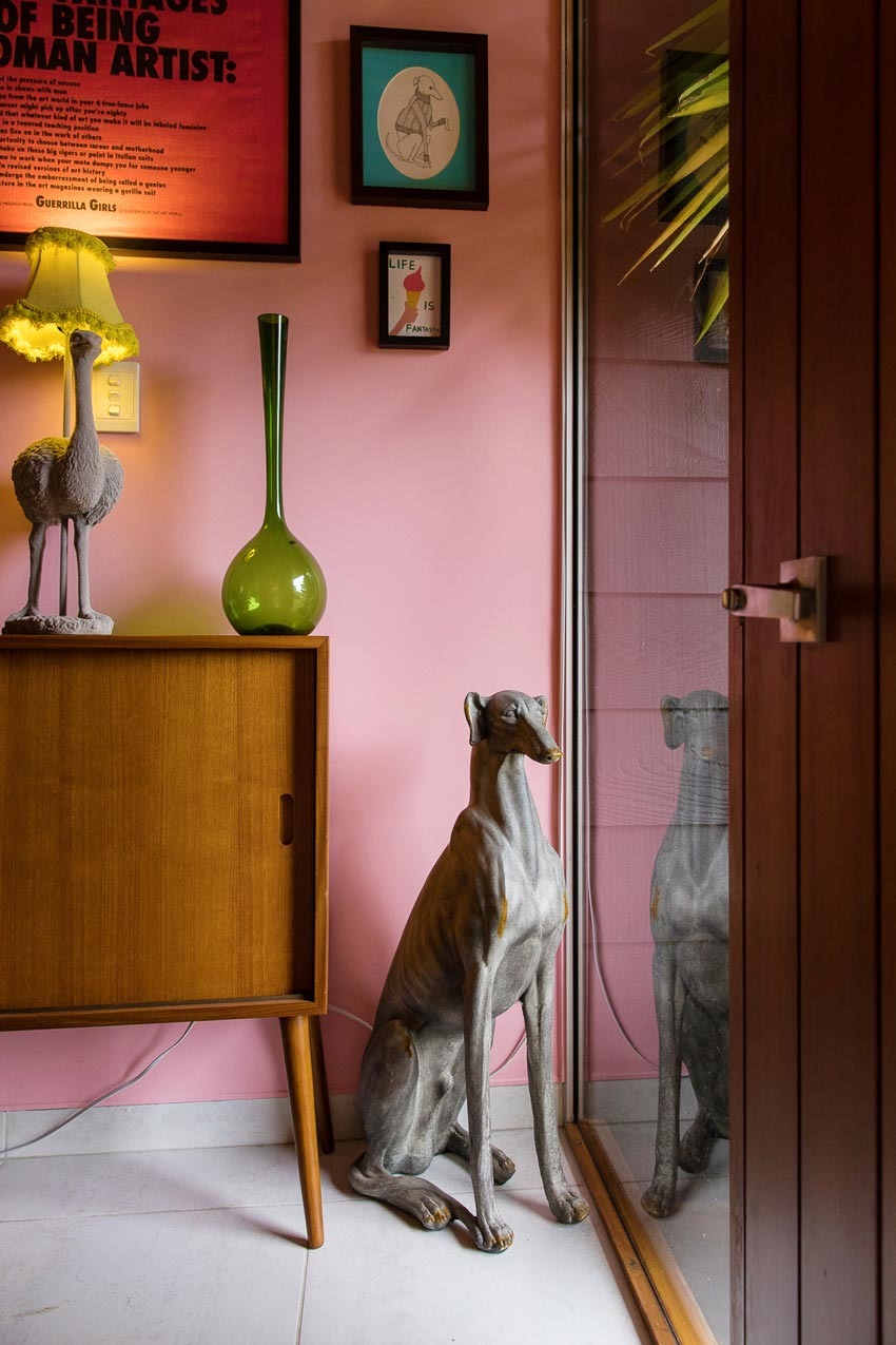 Even The Hallway In This New Zealand Home Is Colorful And Playful Tour On Design*Sponge