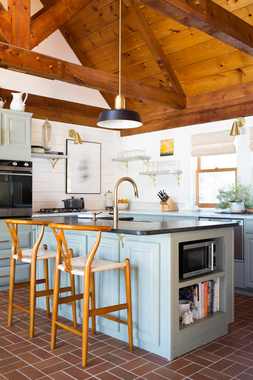 An Updated Kitchen In This Maine Home Tour On Design*Sponge