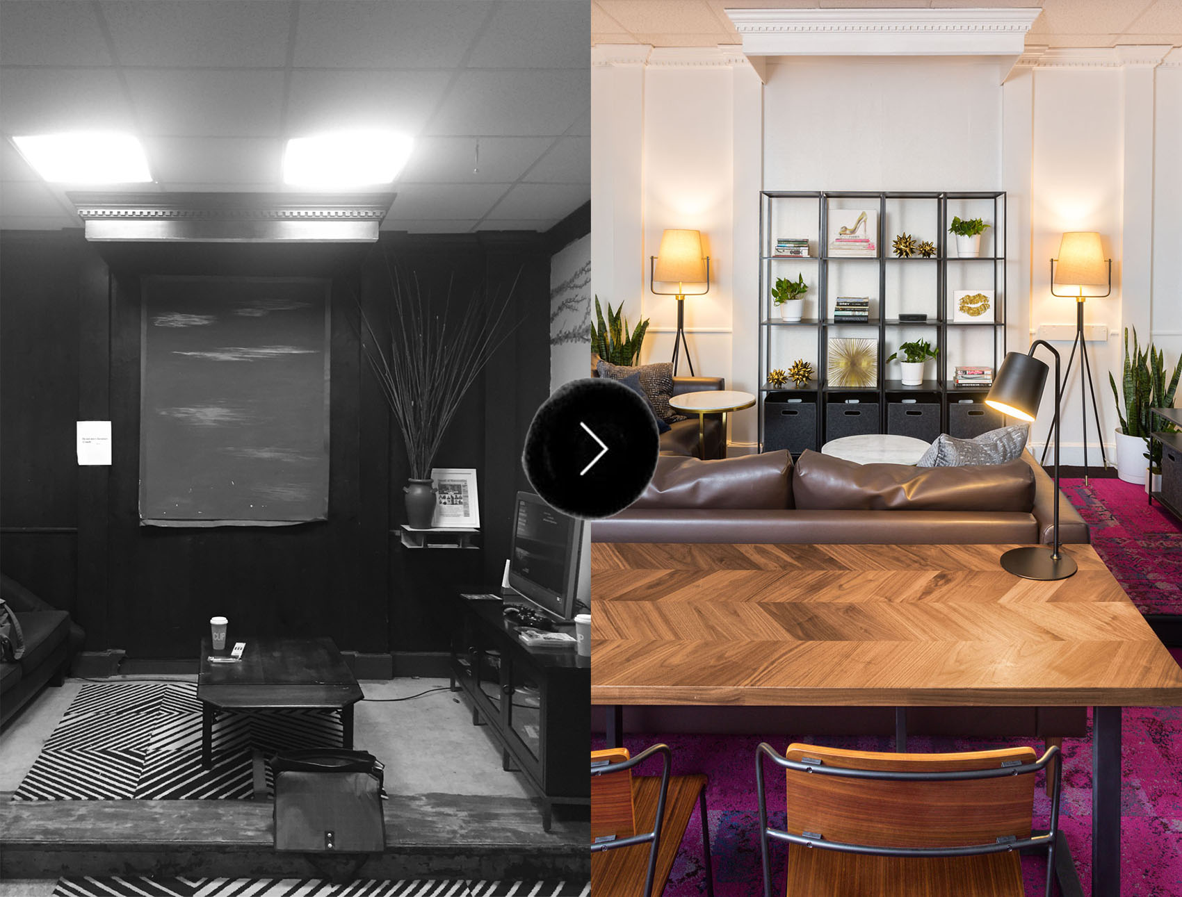 Before U0026 After: A Charitable Renovation For The Ali Forney Center In NYC