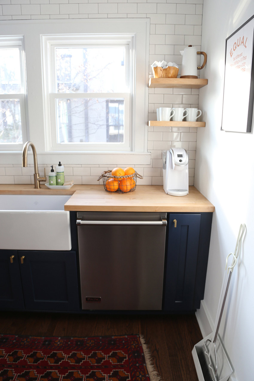 Kitchen Windows Replaced Broken Ones A Must Have In This Michigan Remodel On Design*Sponge