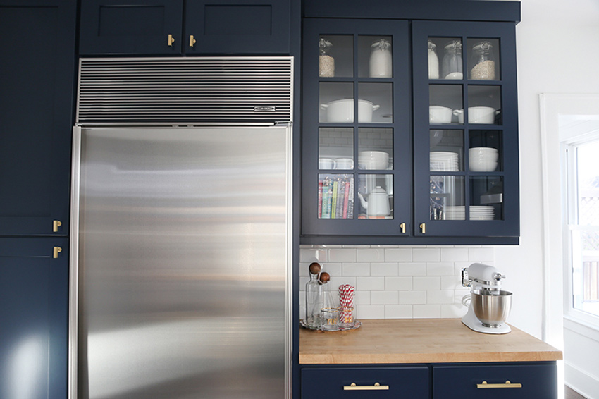 Kitchen Details In this Newly Renovated 1926 Home On Design*Sponge