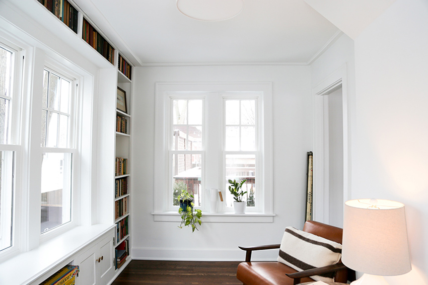 Historic Homes Have Some Of The Most Special Details Like The Library In This 1926 Home In Michigan Tour On Design*Sponge