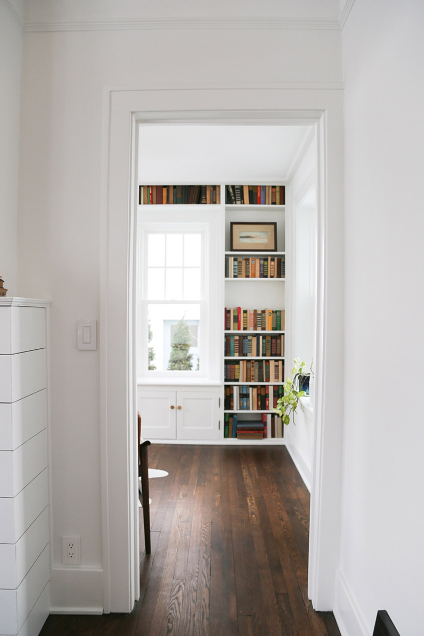 Beautifully Restored Hardwood Floors Are Featured In This 1926 Before And After Tour On Design*Sponge