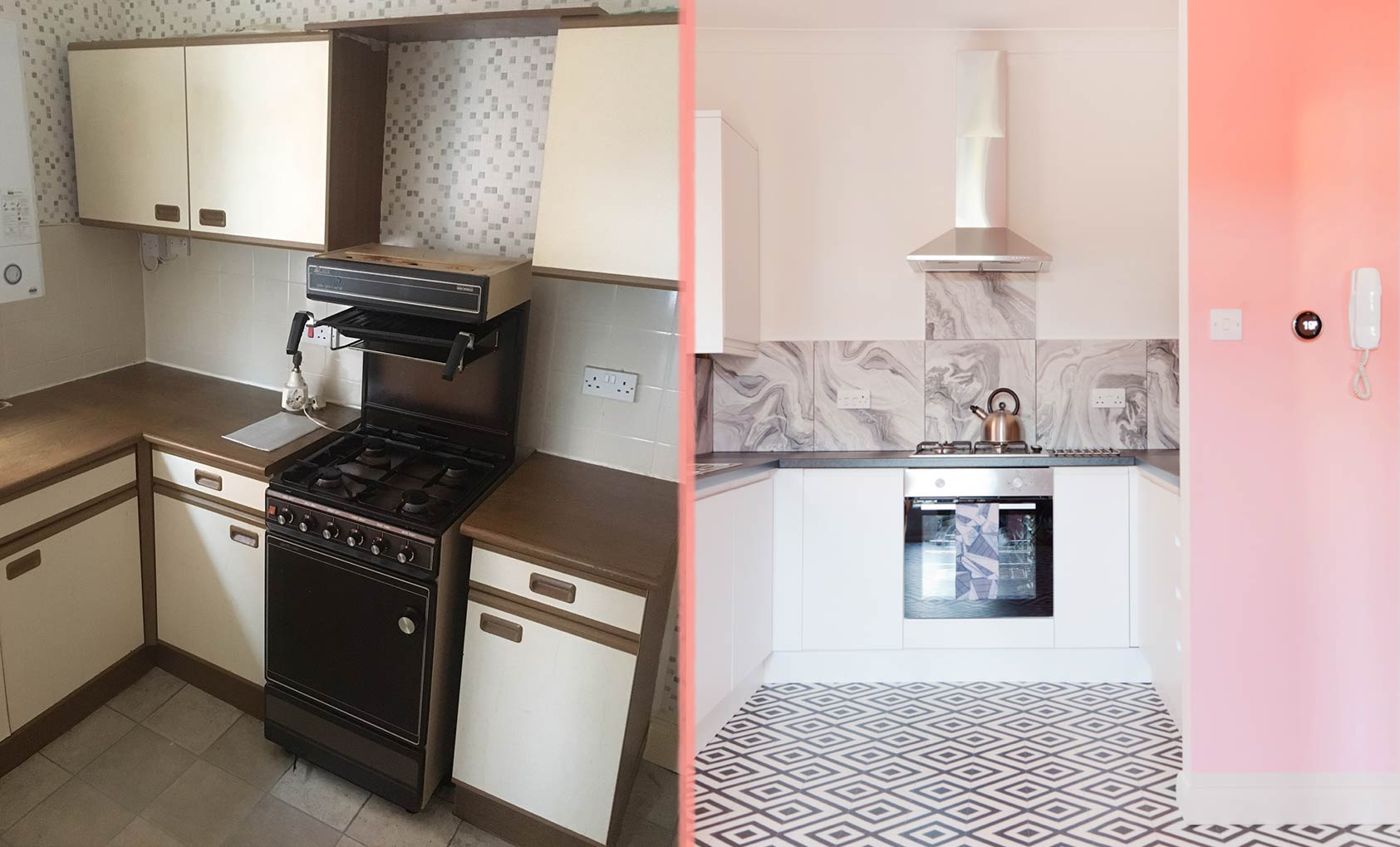 Before & After: An English Rental Brings the Drama, Design*Sponge