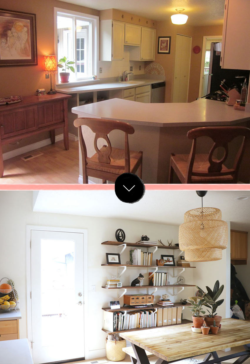 A Kitchen Remodel That Switched The Kitchen And Dining Room Positions To A Better Layout Tour On Design*Sponge
