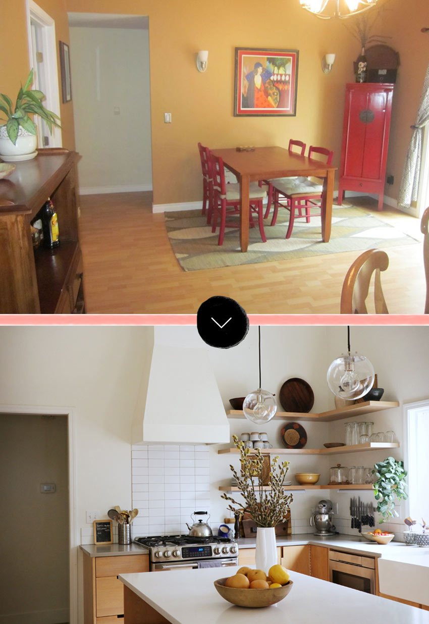 Portland Oregon Kitchen Before & After On Design*Sponge