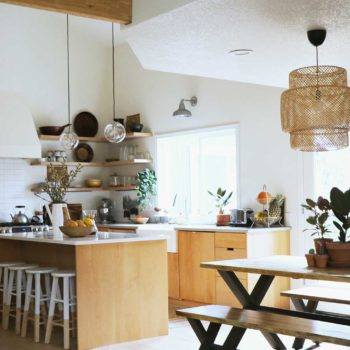 Before & After: An 80s Kitchen Gets a Modern Scandinavian Facelift