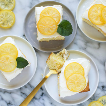 A Citrus Lover's Sheet Cake
