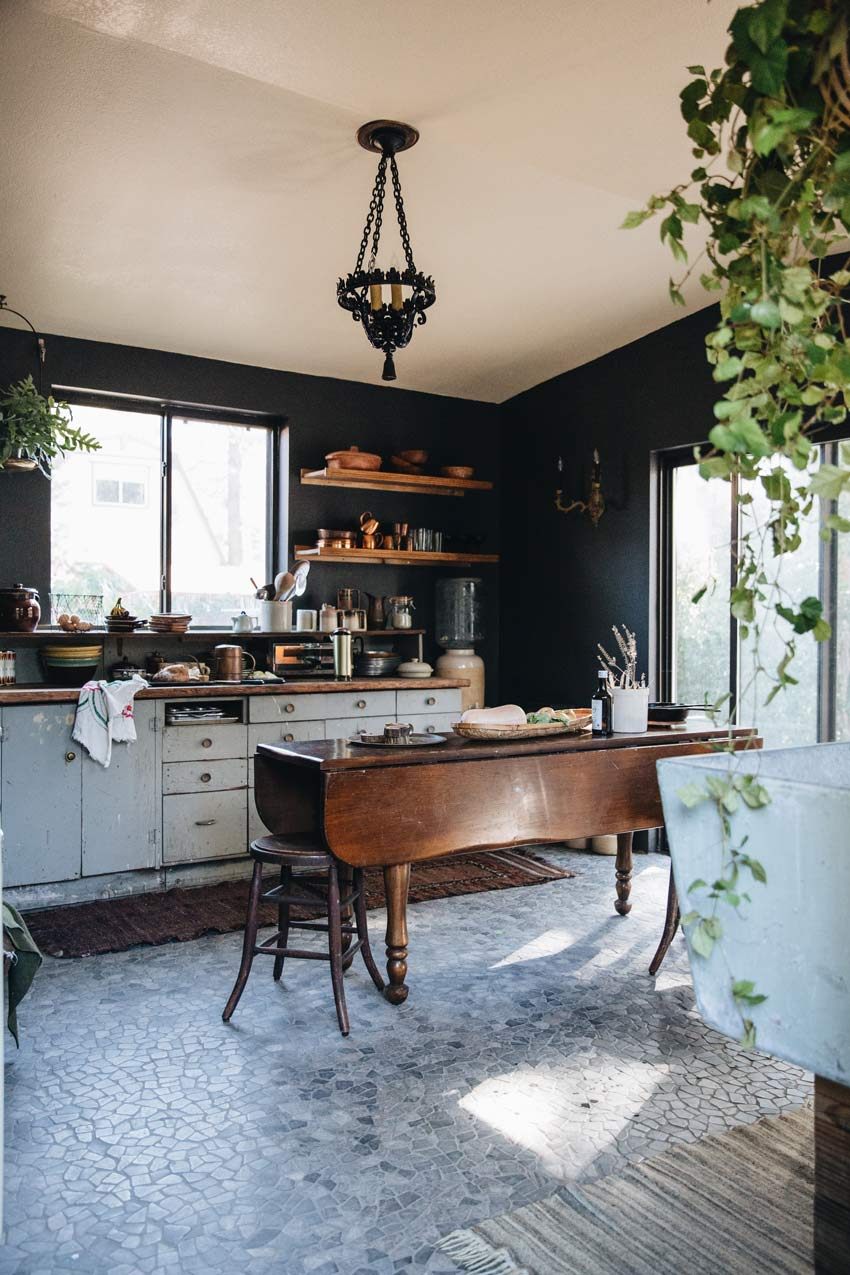 Rustic And Elegant Kitchen In Big Bear On Design*Sponge