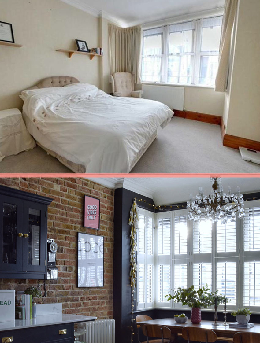 The Old Main Floor Bedroom Becomes An Attached Dining Room In This Home Before And After On Design*Sponge