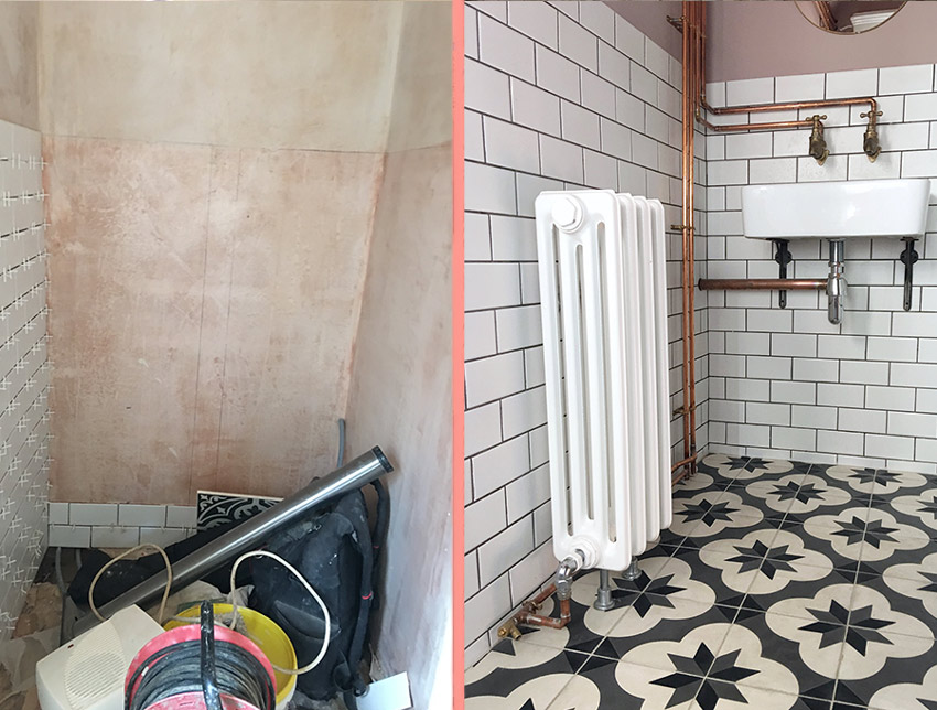 Bathroom Before And After On Design*Sponge