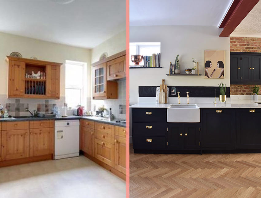 A Total Kitchen Remodel In A One Hundred Year Old Home In Essex Before And After On Design*Sponge