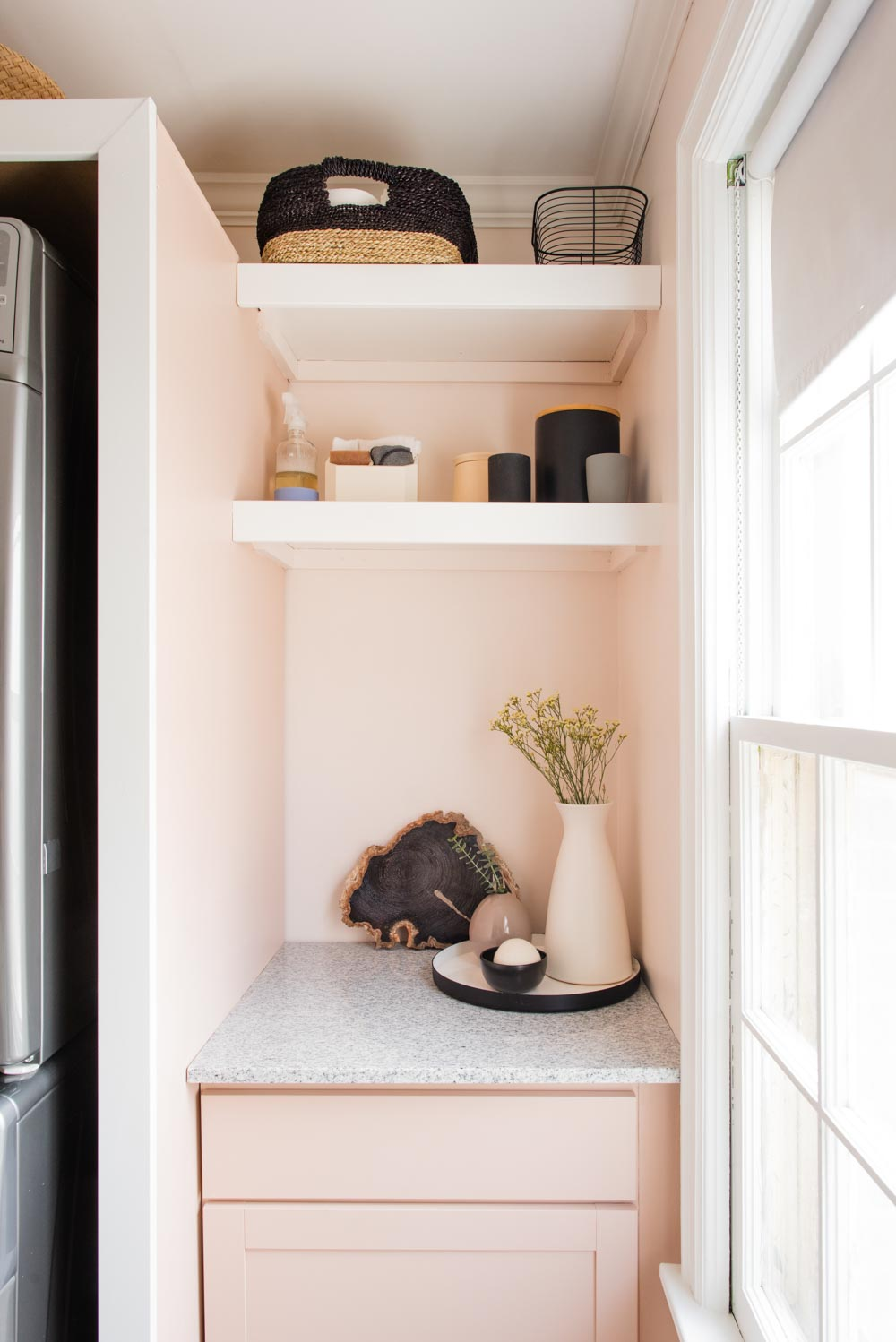 Design*Sponge | Lauren and Austin's Laundry Room Reno
