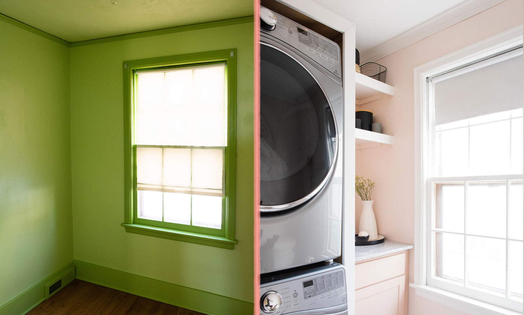 Before & After: Lauren and Austin's Laundry Room Reno
