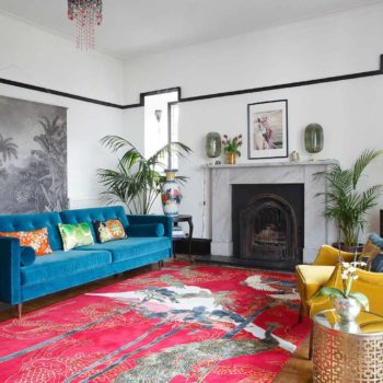 In Scotland, a Rug Designer's 200-Year-Old Farmhouse
