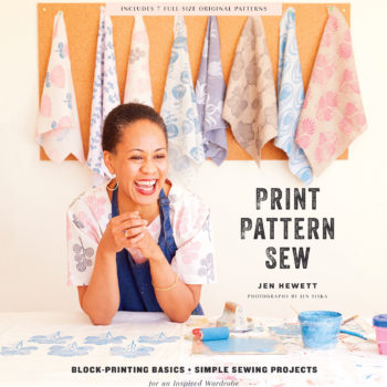 Q&A: Jen Hewett's New Book, <em>Print, Pattern, Sew</em> + Giveaway!
