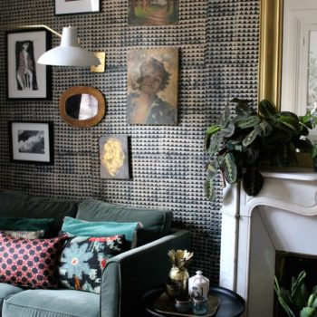 In Paris, an Apartment Drenched in Wallpaper is a Dream Realized