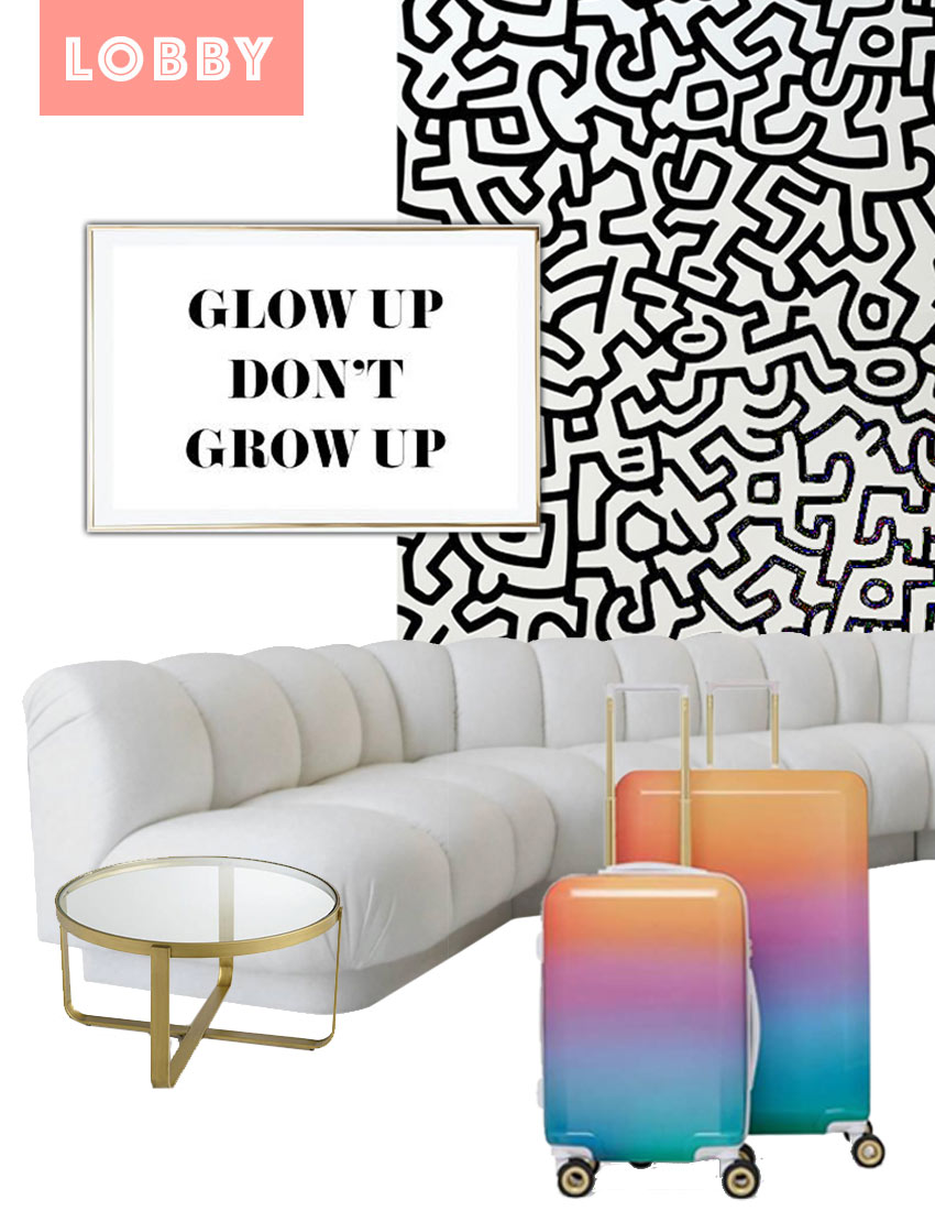 Checking In: The Glow Suite, Design*Sponge