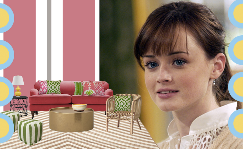 Checking In: The Rory Gilmore Pool House Suite | Design*Sponge