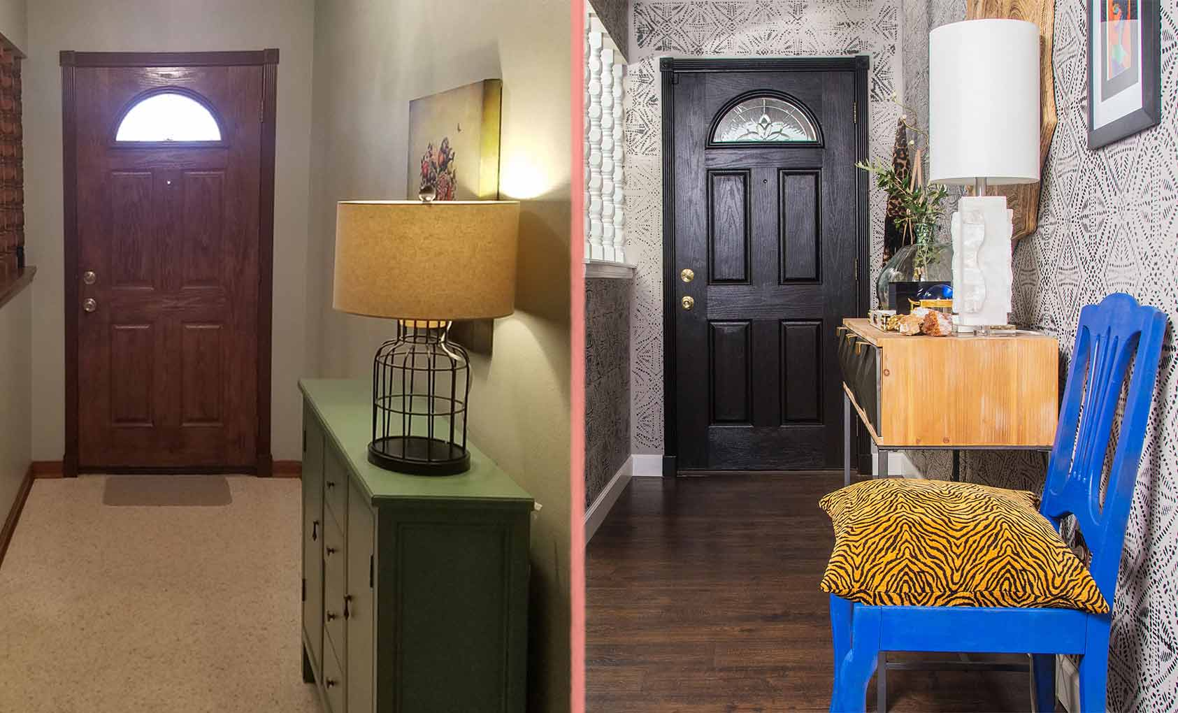 Before & After: Making Maximalism Work in a Tight Space, Design*Sponge
