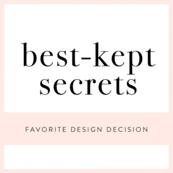 Best-Kept Secrets: Favorite Design Decision