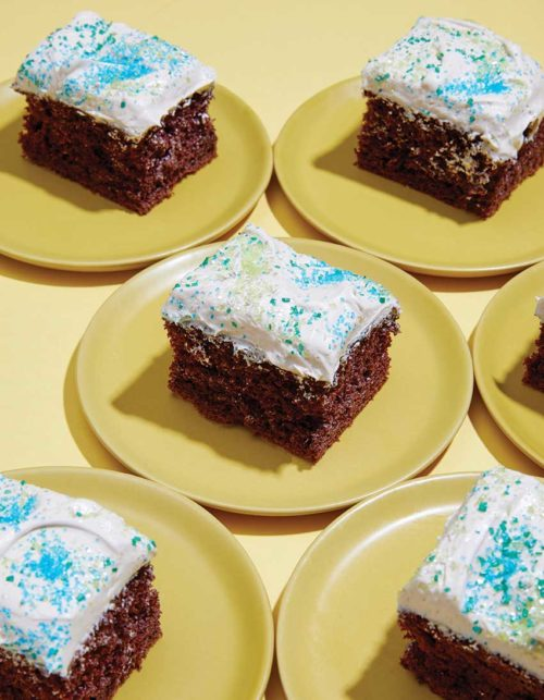 Your New Go-To Chocolate Sheet Cake + Giveaway