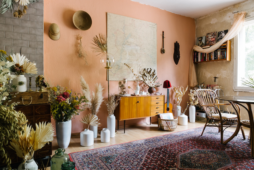 Vintage Appeal in A Floral Stylist's Berlin Rental Apartment | Design*Sponge