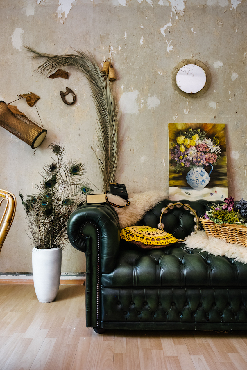 Vintage Appeal in A Botanical Stylist's Berlin Rental Apartment | Design*Sponge