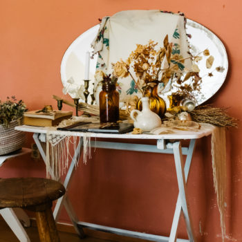 Vintage Appeal in A Botanical Stylist's Berlin Apartment