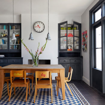 In London, An Old Edwardian Home with A Fresh, New Spirit