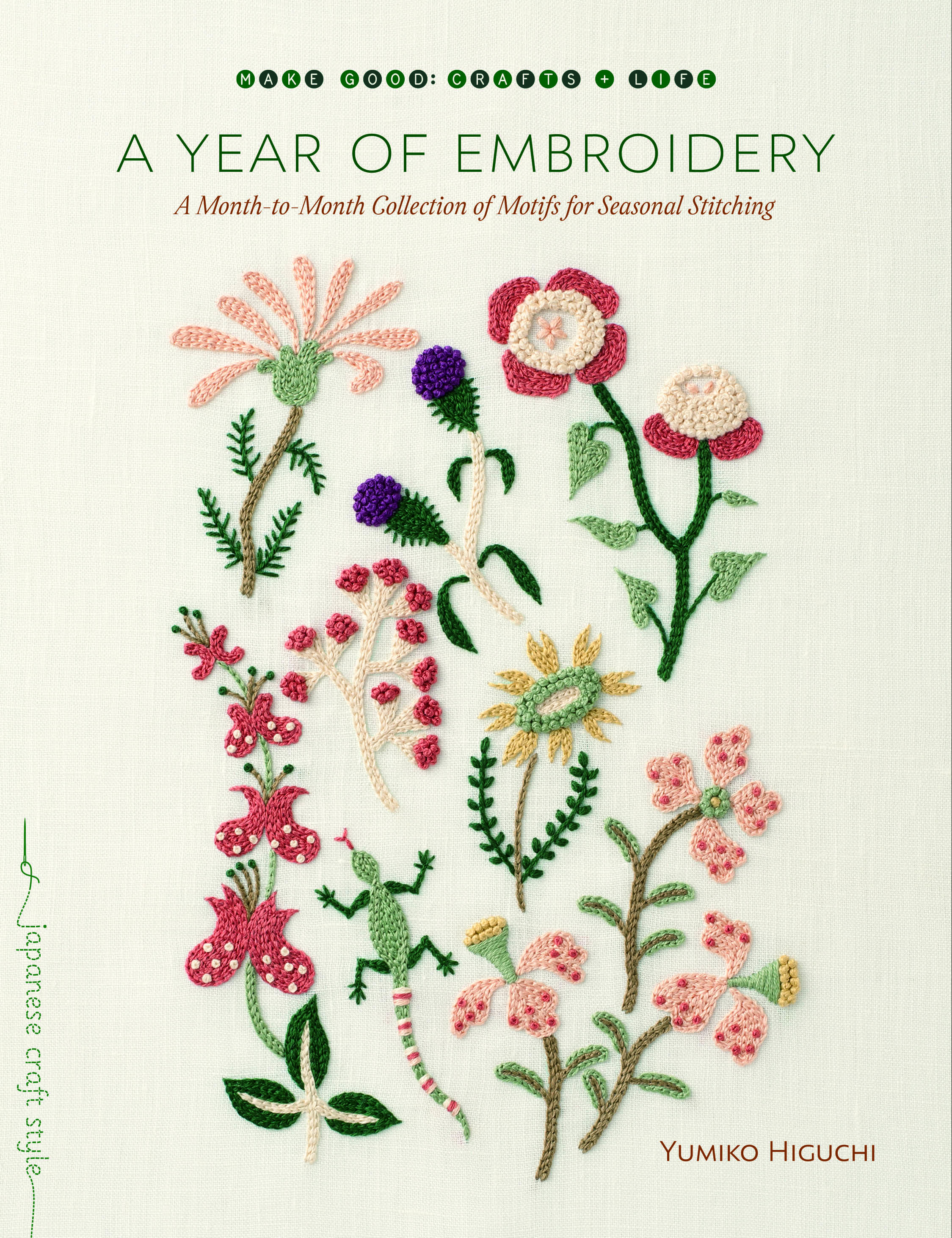 Diy Floral Cactus Embroidery Projects From A Year Of Embroidery