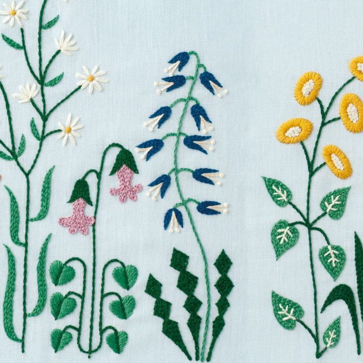 DIY Floral &#038; Cactus Embroidery Projects from <em>A Year of Embroidery</em>