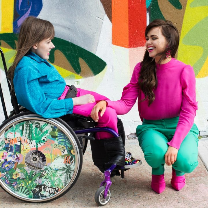 Izzy Wheels: Empowering Wheelchair Users Through Vibrant Color & Personality