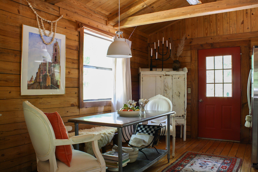 In Arkansas, A Couple's Log Cabin in the Heart of a Fishing Resort | Design*Sponge