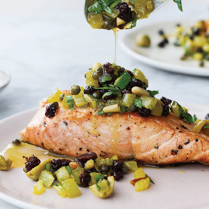 Bridget Jones' Pan-Fried Salmon + Giveaway