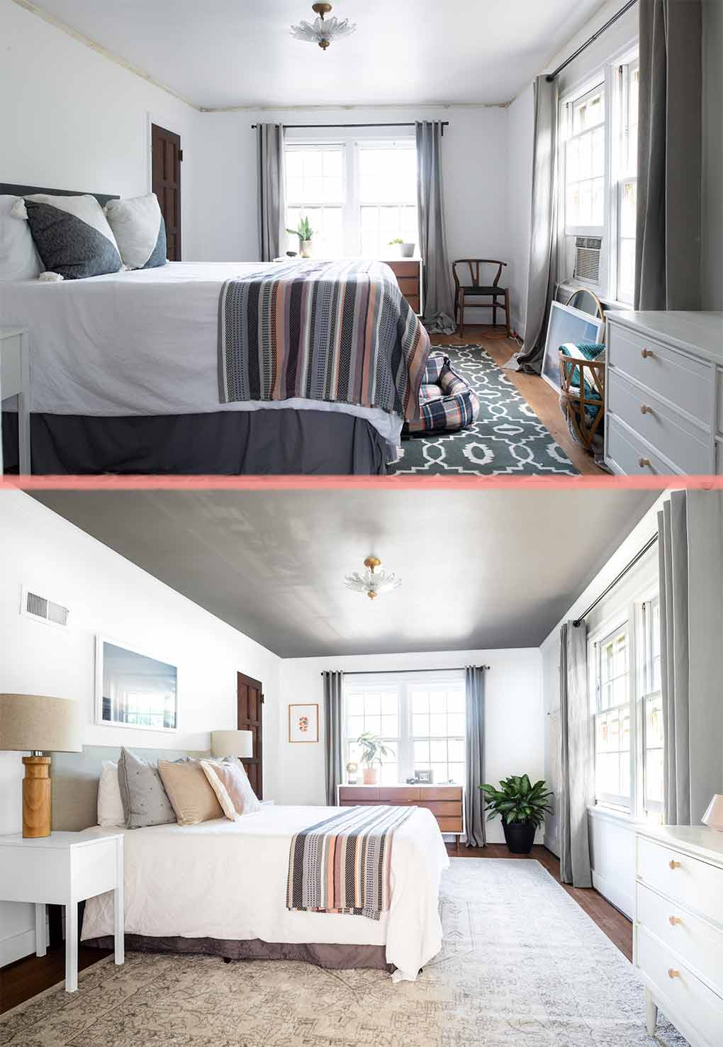Before Amp After Bedroom Updates Before Baby Comes Design