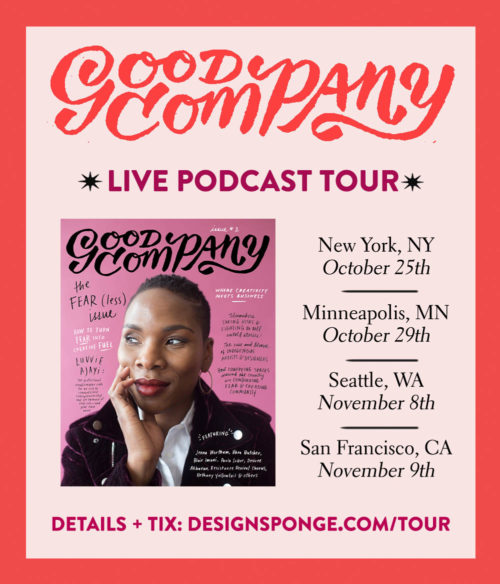 LIVE PODCAST TOUR: Come join us for Good Company on the Road!