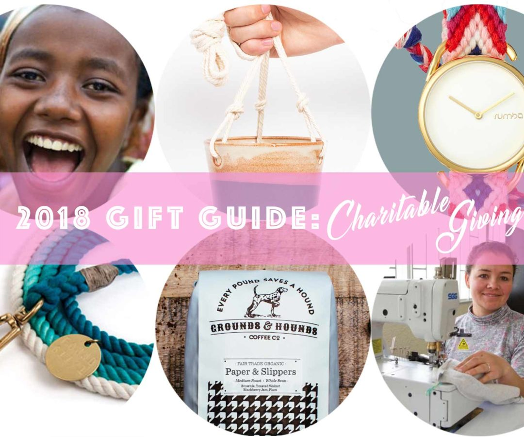 2018 Gift Guide: Charitable Giving