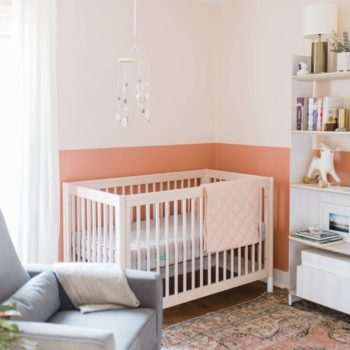 Before & After: A Color-Blocked Nursery in Des Moines, IA
