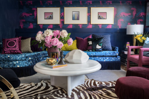 A 10-Month Rental Takes Maximalism to The Max | Design*Sponge