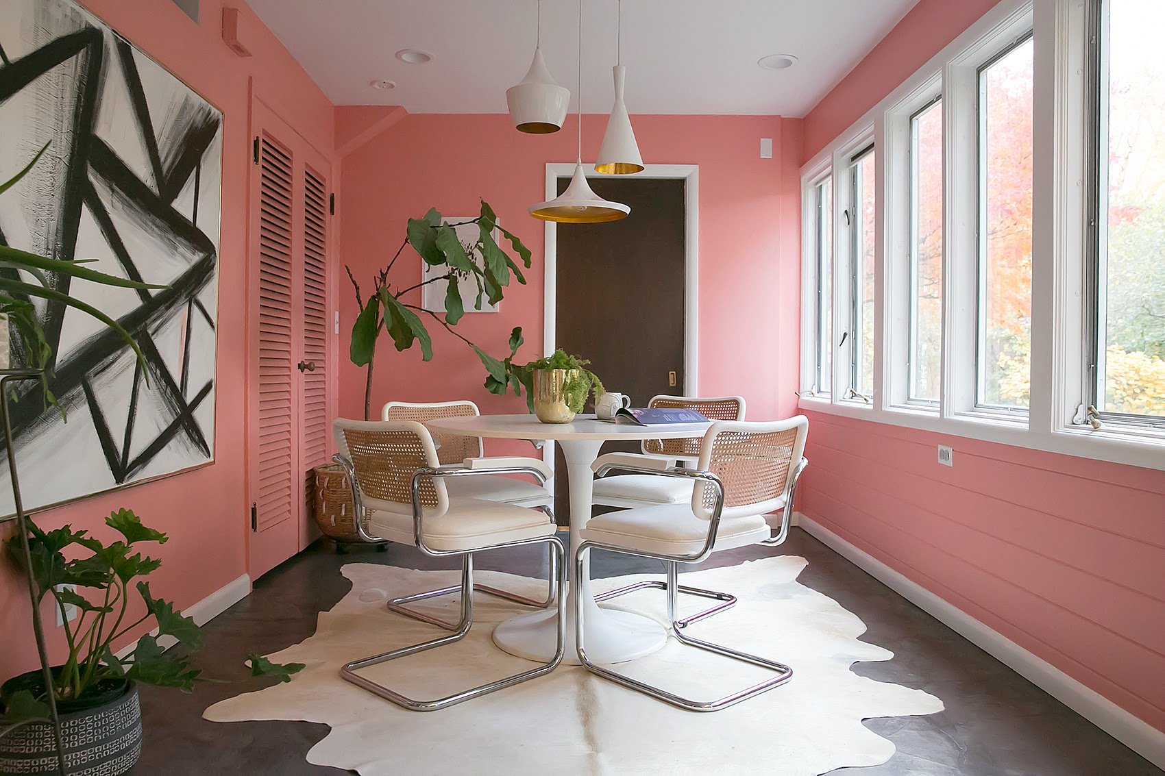 A Cheery Mid Century Modern Home In Shaker Heights Oh Design Sponge