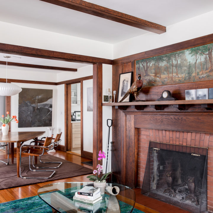 An Arts & Crafts Home in Maine Full of Old & New Stories