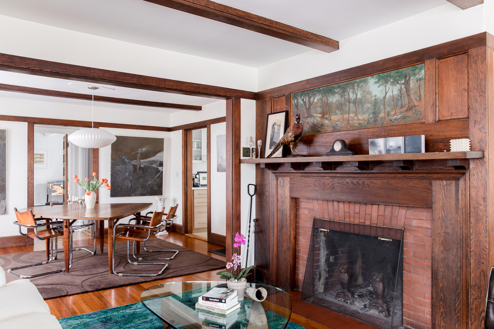 An Arts Crafts Home In Maine Full Of Old New Stories Design Sponge