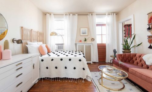 Living & Working in 350 Square Feet